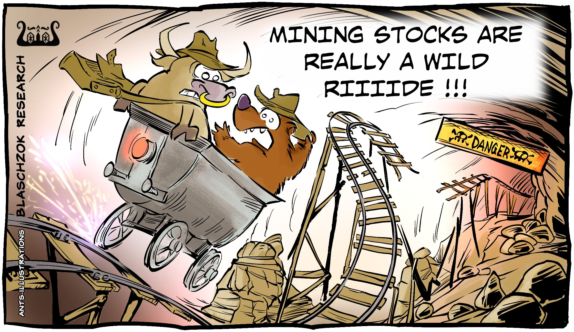 Cartoon: HUI Indiana Mining 15.03.2021