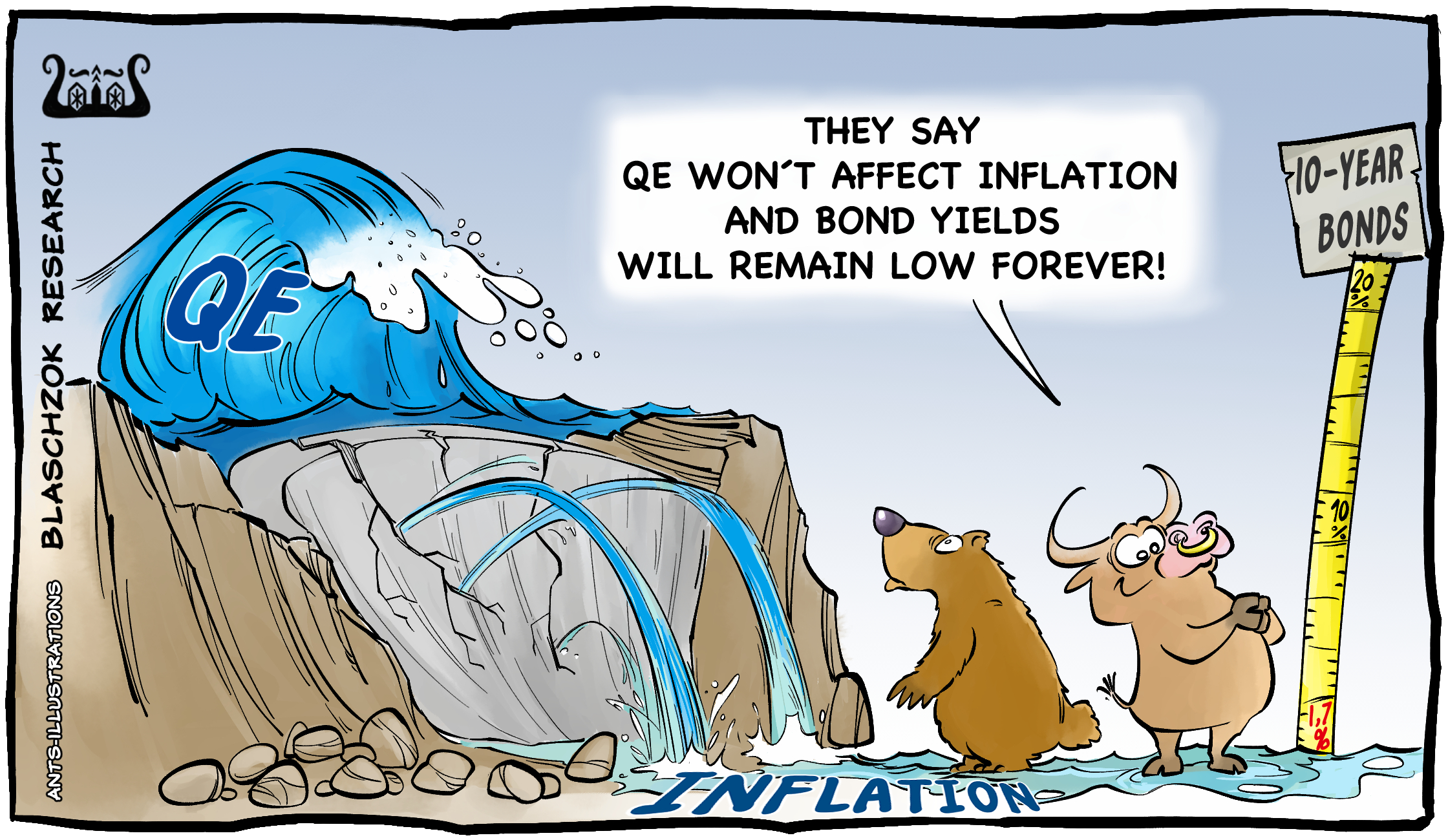 Cartoon - Inflationsrate