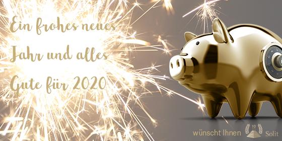 SOLIT wünscht ein frohes neues Jahr 2020