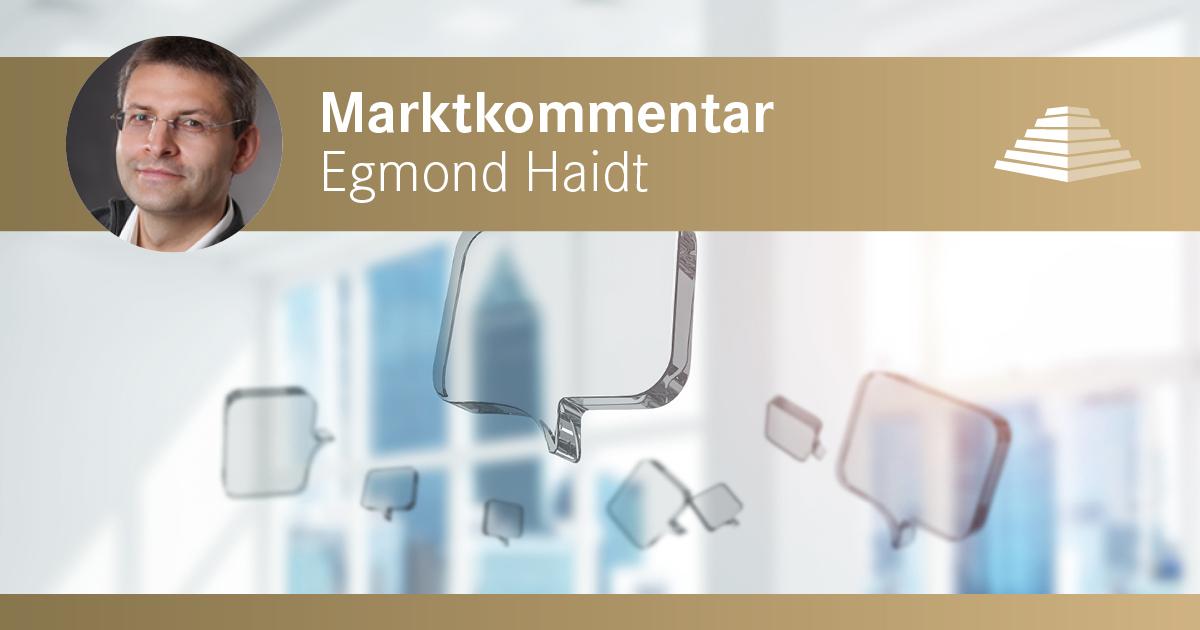 SOLIT Gruppe - Marktkommentar - Egmond Haidt